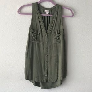 Merona Fitted Tank Top with Pockets